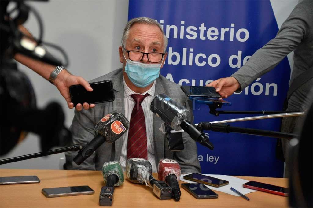 Fiscal Marcelo Fontana. Crédito: Archivo El Litoral