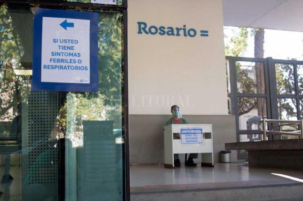 Los casos Covid junto a otras patologías llevan a una alta ocupación hospitalaria en Rosario -  -