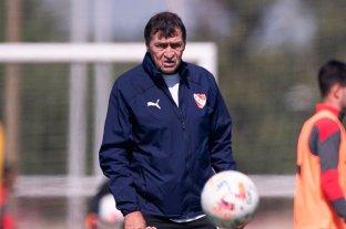 Falcioni se reintegró a los entrenamientos de Independiente