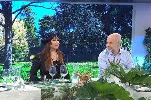 """Moria Casán, y su insólita observación sobre Rodríguez Larreta: """"Es un político con cara de extraterrestre"""""""