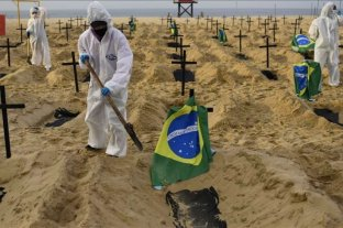 Coronavirus: Brasil tiene la mayor tasa de mortalidad en América