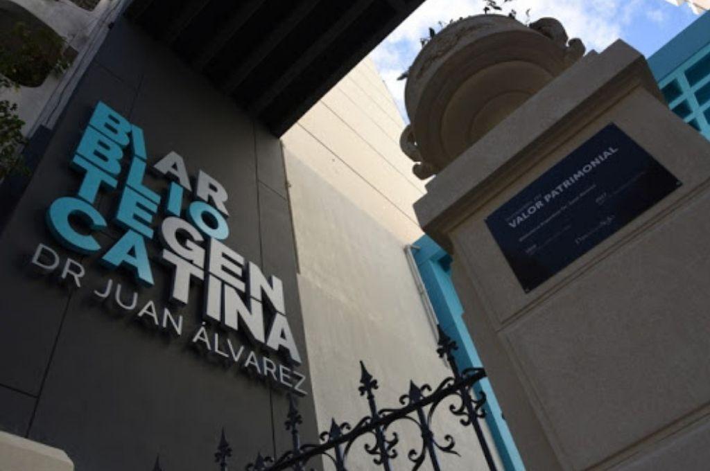 "Biblioteca Argentina ""Dr. Juan Álvarez"" Crédito: Gentileza"