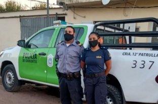 Corrientes: dio a luz arriba de un patrullero