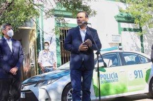Corrientes: el gobernador Valdés entregó móviles policiales en Goya