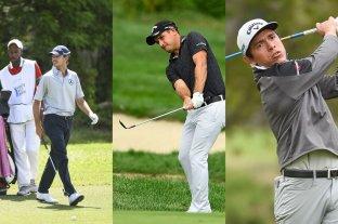Tres argentinos compiten en el golf de Texas