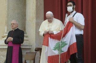 El papa Francisco anunció que visitará el Líbano cuando terminen de formar el Gobierno