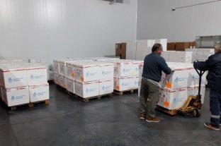 Córdoba recibió una nueva partida de vacunas que serán destinadas a mayores de 60 años
