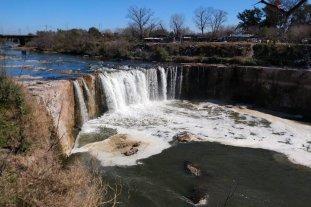 Prevén arrancar este año la obra para estabilizar la cascada del arroyo Saladillo