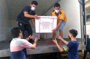 Entre Ríos recibió 19.800 dosis de la vacuna Sputnik V