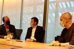 José Corral y Roy López Molina se reunieron con el jefe de gobierno de CABA