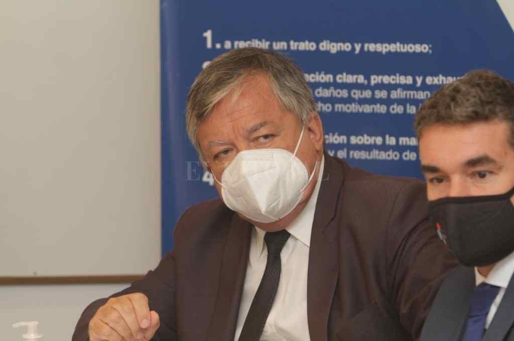 Rubén Martínez, fiscal regional de Reconquista, ahora con una nueva tarea encomendada por Baclini.    Crédito: Mauricio Garín