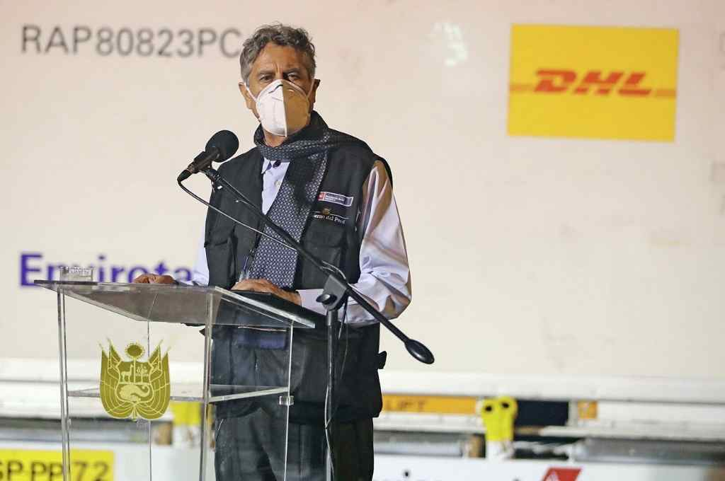 Francisco Sagasti, presidente peruano    Crédito: Gentileza