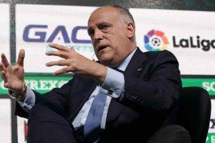"""Javier Tebas: """"La Superliga está muerta"""""""