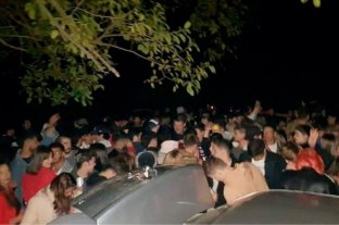 Un joven de Córdoba admite que paga coimas a la policía para organizar fiestas