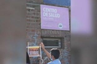 Fuerte reclamo del centro de Salud de Las Lomas