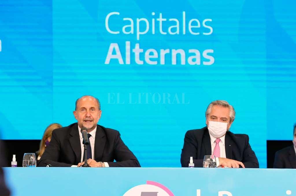 Fernández anunció que instalarán un hospital de campaña en Rosario -  -