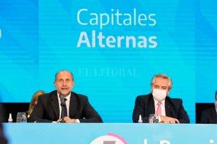 """""""No puede ganarnos el crimen organizado"""", dijo Fernández en Rosario -  -"""