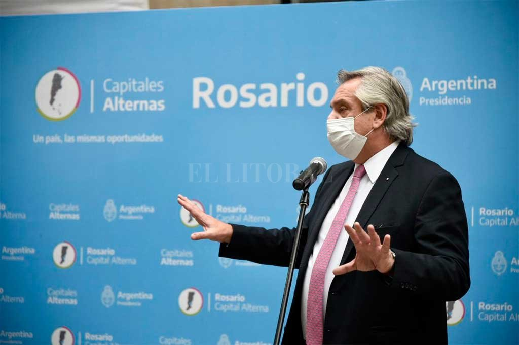 """""""Estamos viviendo un momento muy difícil de la pandemia"""", afirmó Fernández  -  -"""