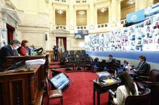 El Senado avaló el DNU que suspende las clases presenciales en el AMBA