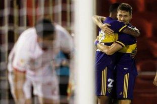Boca derrotó 2 a 0 a Huracán con goles de Soldano y Maroni