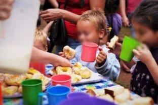 De los niños que van a comedores el 42,1%  presentan signos de malnutrición