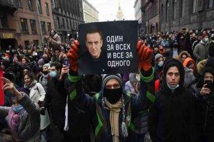 Rusia: la justicia prohibió las actividades a favor de Navalny