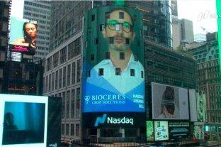 Bioceres comenzó a cotizar en la bolsa de valores Nasdaq