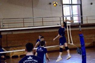 Vóleibol: se incorporaron diez jugadores a los entrenamientos del seleccionado masculino