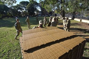 Con 40 camillas para pacientes no Covid, el hospital de campaña estará en el Liceo Militar