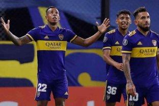 Boca ganó 2 a 0 frente a Santos por Copa Libertadores