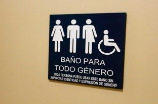 Un proyecto de ley impulsa  baños públicos sin género