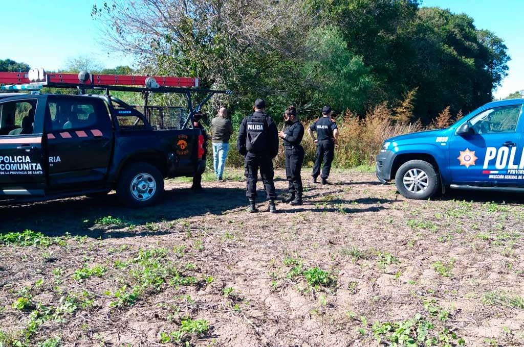La policía intenta dar con el paradero del puma en Casilda Crédito: Gentileza Radio Casilda FM 91.1