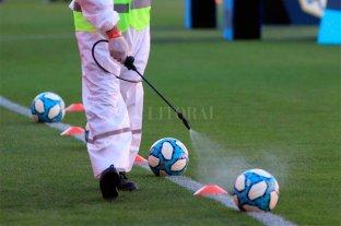Gobierno no analiza la suspensión del fútbol profesional