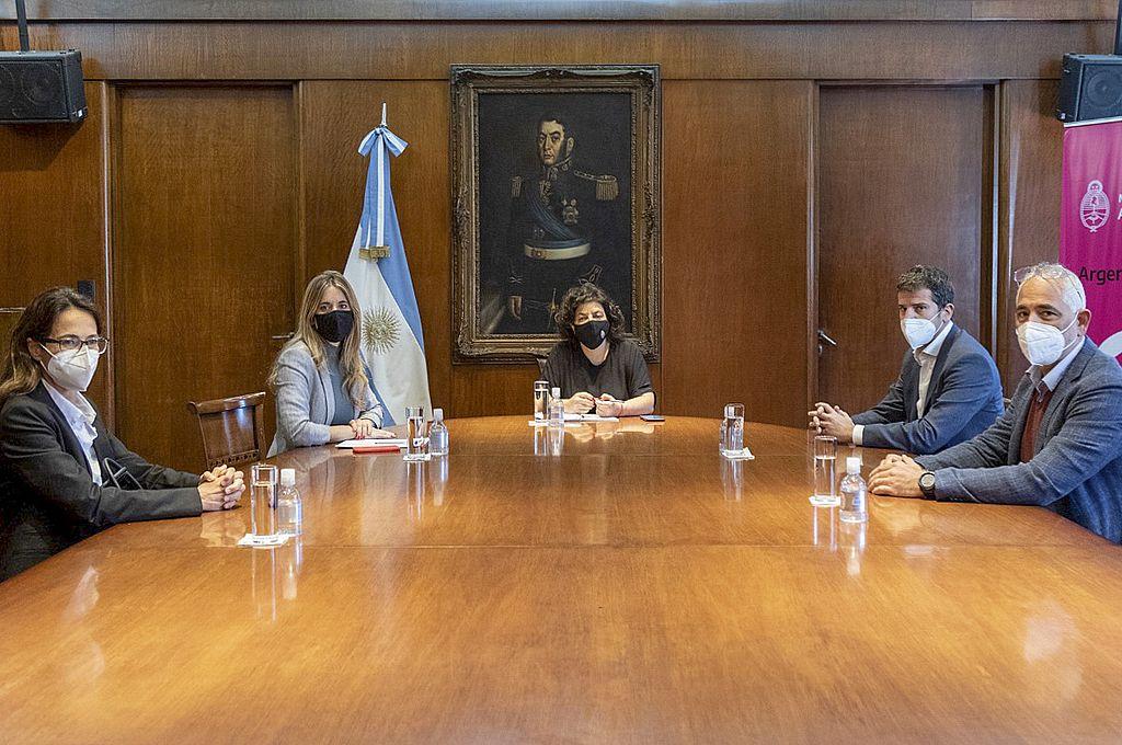 Según se supo, el encuentro se desarrolló por pedido del presidente Alberto Fernández. Crédito: Gentileza
