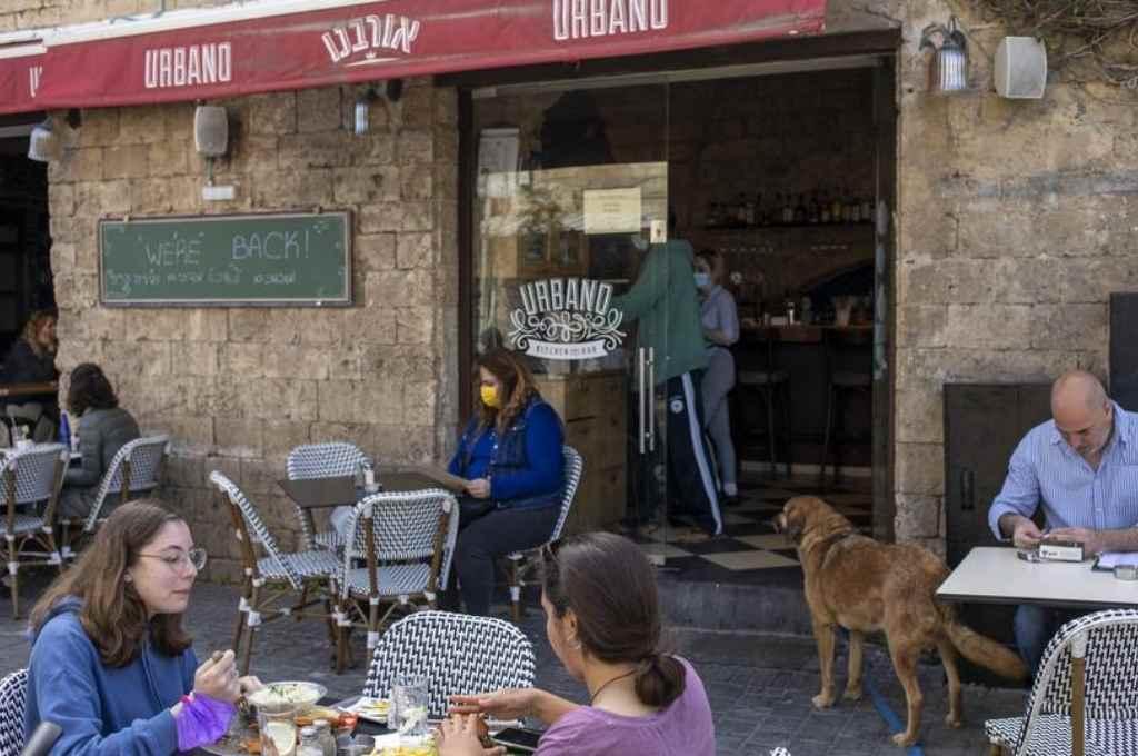 Bar en Israel. Crédito: Gentileza