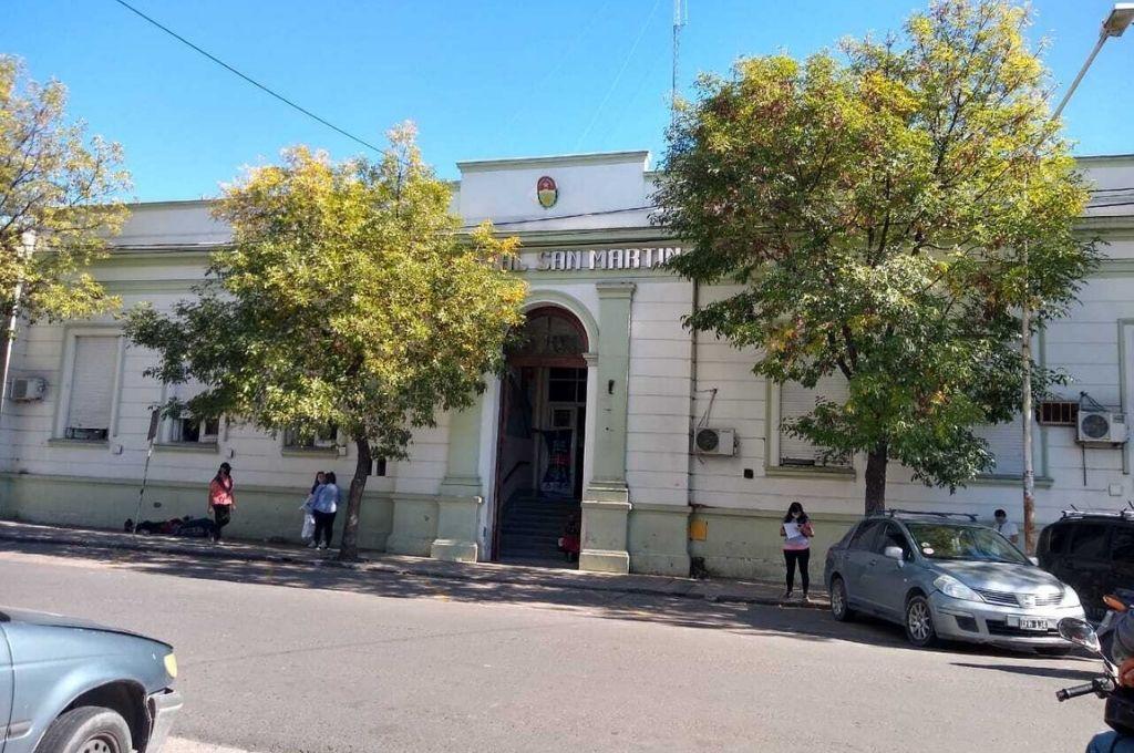 El Hospital San Martín es referente provincial, pero no tiene inversiones de infraestructura acorde con ese rol. Crédito: Gentileza