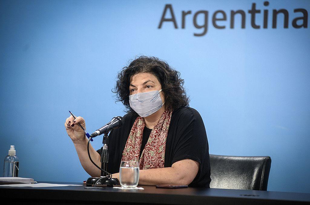 La citación de Marijuan se dio un día después de que Vizzotti le pidiera explicaciones formales a las autoridades de Astrazeneca en el país por las demoras en el cumplimiento del contrato. Crédito: NA