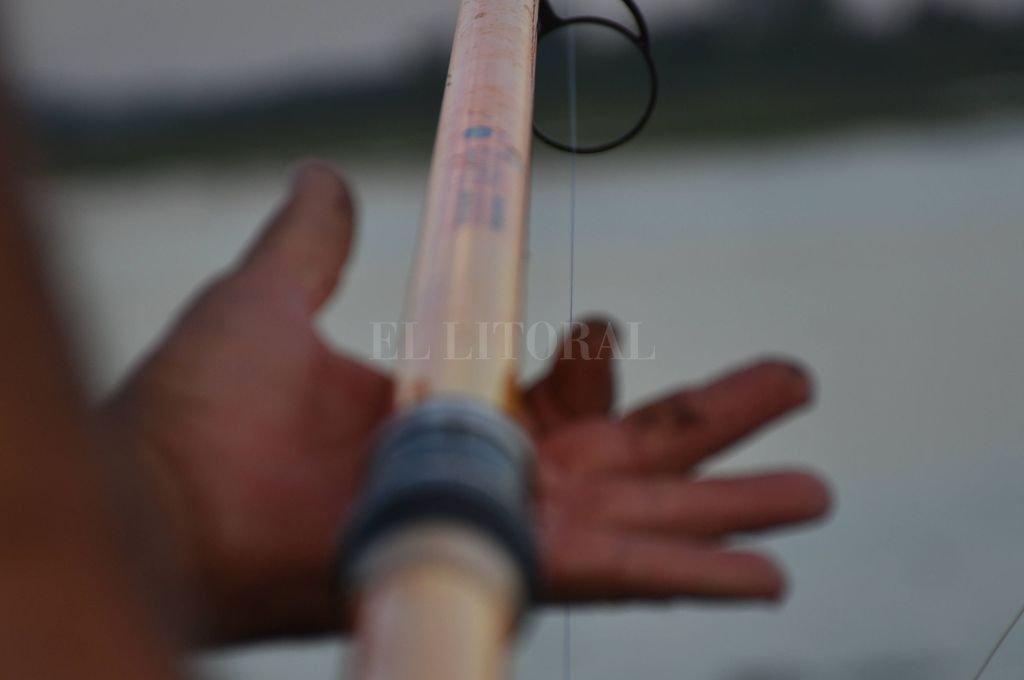 El agresor convirtió el artículo de pesca en un arma impropia, con la cual ocasionó lesiones a la mujer. Crédito: Manuel Fabatía