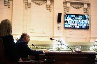 Perotti, de puño y letra: el gobernador hablará ante la asamblea legislativa