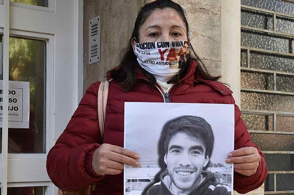 Cristina, la madre de Facundo, no tiene dudas de que hay policías involucrados en la muerte de su hijo.    Crédito: Gentileza