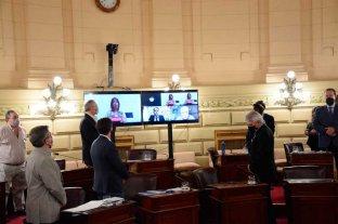 Otra Sesión Preparatoria con  fuertes tensiones en el Senado