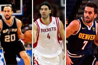 Uno por uno: los argentinos que jugaron en la NBA