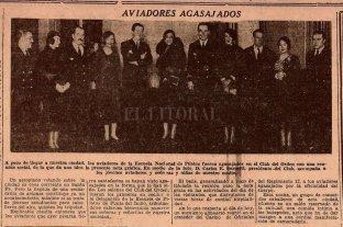 """Cuando los bravos """"caballeros del aire"""" aterrizaron en pleno barrio Barranquitas"""