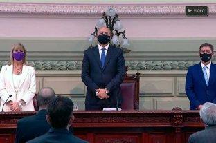 En vivo: Perotti abre sesiones Ordinarias en la Legislatura de Santa Fe
