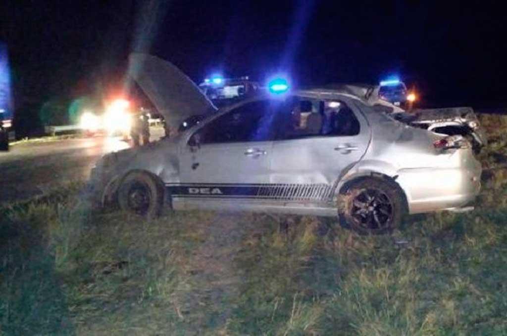 En el auto iban cinco personas, entre las cuales estaba la pequeña víctima, llamada Giovanni Bautista Cardozo. Crédito: Gentileza www.radioangelica.com