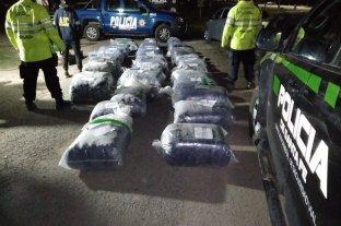 Huanqueros: hallaron 900 kilos de hojas de coca ocultas en una carga de soja