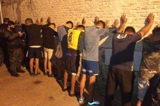 100 detenidos tras los festejos de Central por ganar el clásico de Rosario