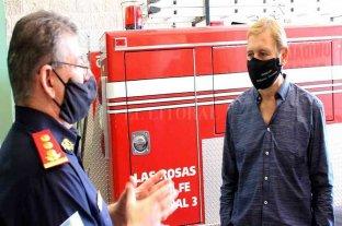 Cornaglia pidió que bomberos voluntarios sean vacunados contra el Covid