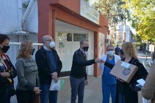 Sunchales: entregaron suministros para el Hospital Almicar Gorosito y Escuela Especial CANDi