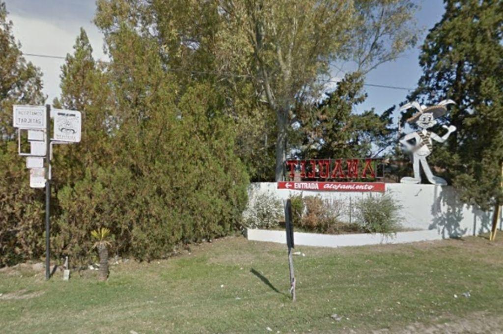 Frente del hotel alojamiento donde ocurrió el incidente. Crédito: Google Street Views